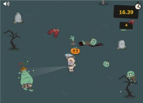 Zombie Streaker – Halloween Edition