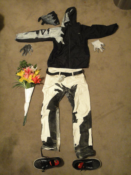 "Awesome ""Flower Thrower"" Costume"