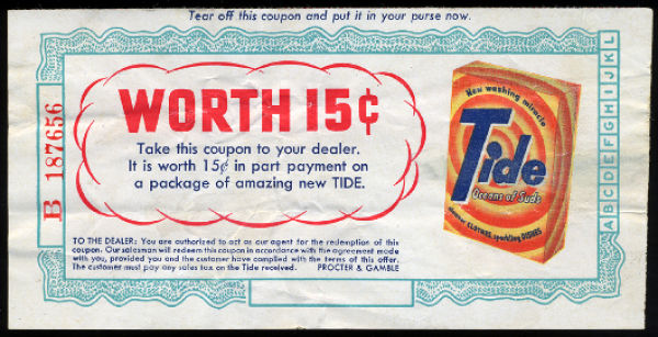 Retro Coupons