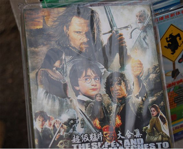 Funny Bootleg DVD Covers from Around the World