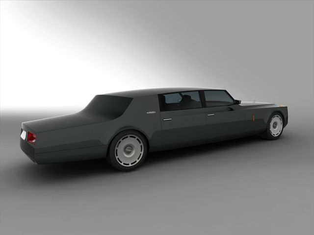 Russian Presidents Limo