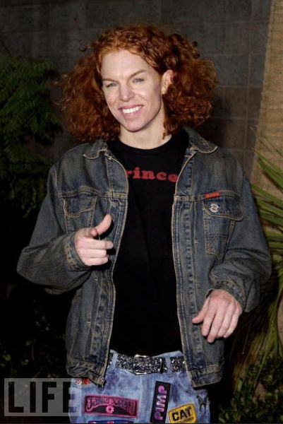 How Carrot Top Has Changed 17 Pics Picture 7