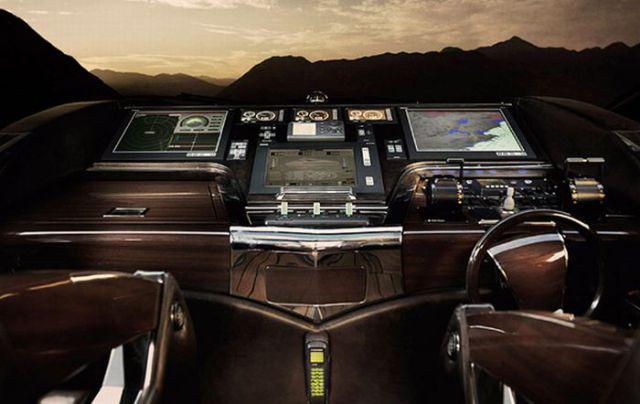 An Amazing Luxury Wooden Yacht