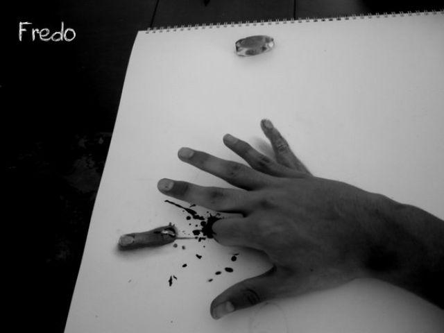 Dibujos a lápiz en 3D