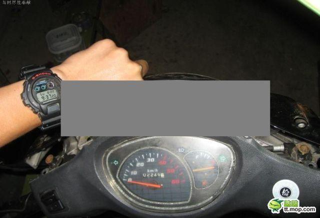 Surprise in a Motorbike