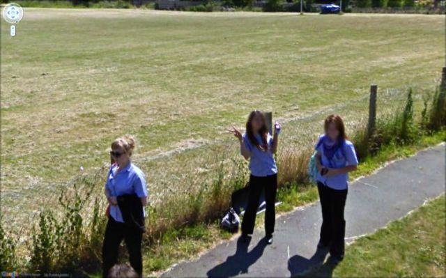 Unusual Google Street View Pictures