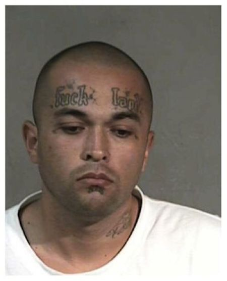 Craziest Mugshot Tattoos