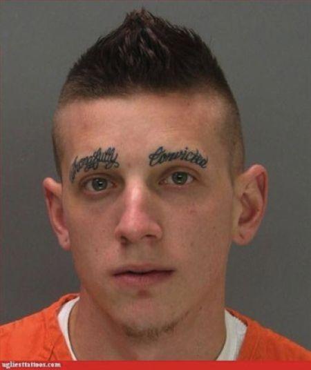 Craziest Mugshot Tattoos