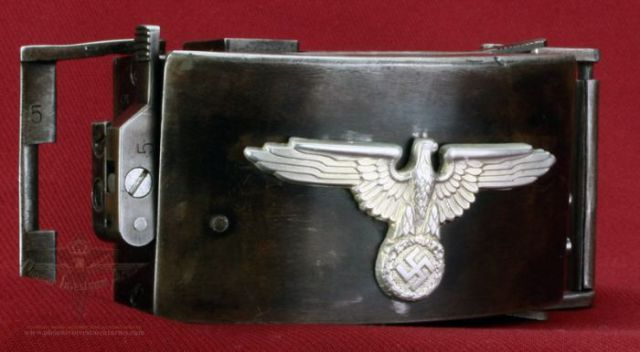 German Belt Buckle with a Surprise