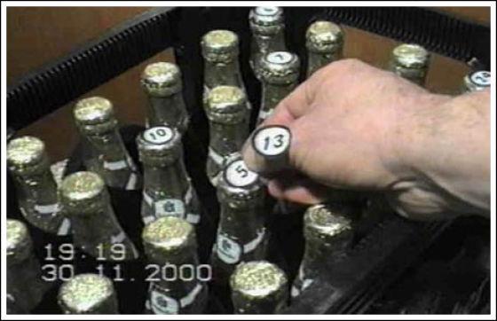 Handmade Beer Calendar
