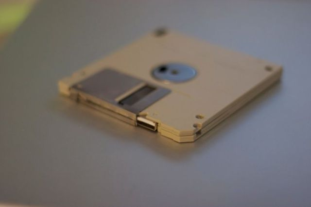 Homemade Floppy Flash Drive