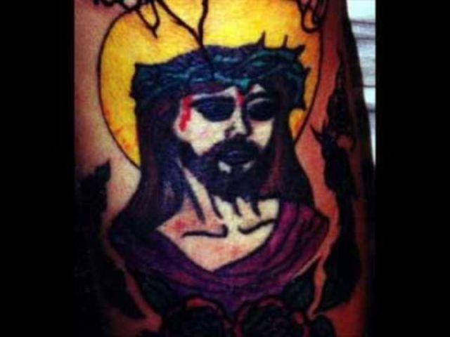 Horrible Self-made Tattoos