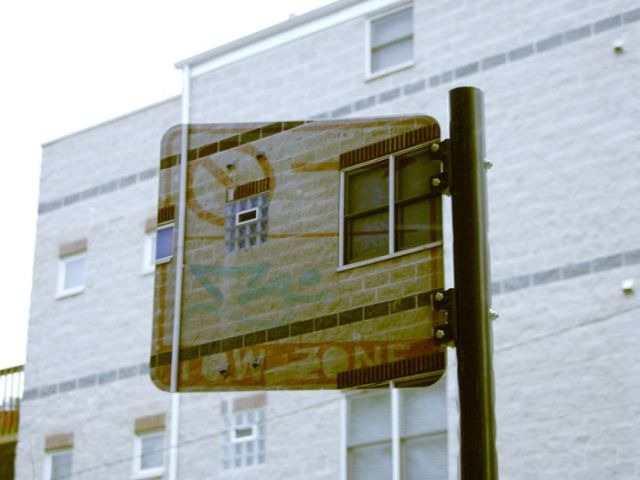 Transparent Signs and Boxes