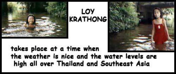 LOY KRATHONG FESTIVAL - THAILAND
