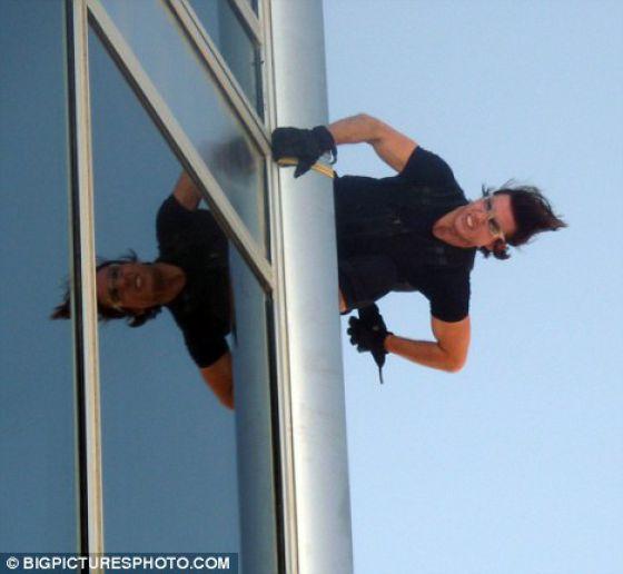 Is He a Stuntman or a Self-Murder?