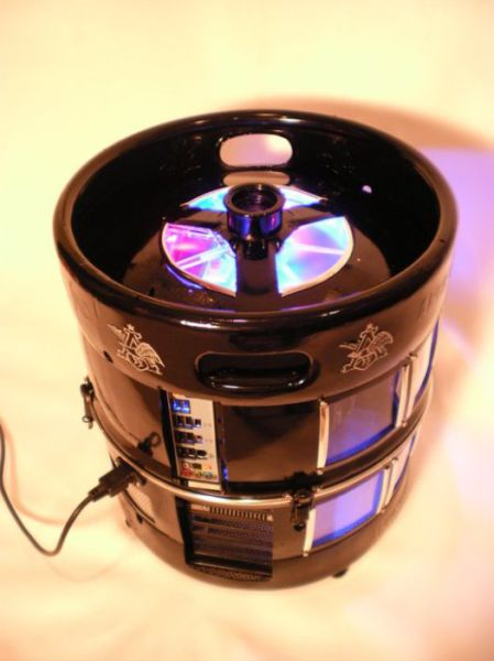 Awesome Beer Keg Case Mod