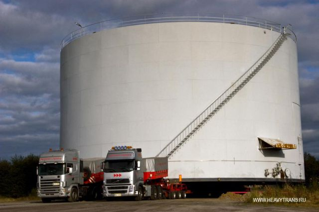 Transporting Oversized Tanks