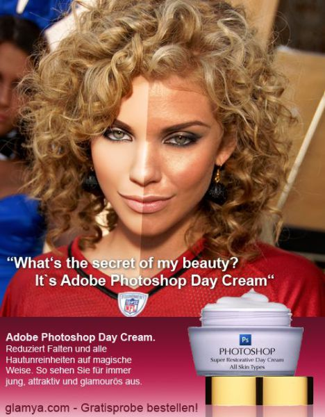 Adobe Photoshop Day Cream