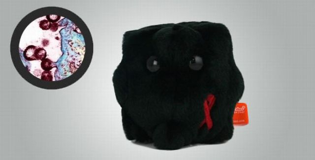 Plush Dolls as Microbes