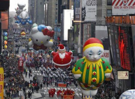 Tilted Tens: Best Parade Balloons