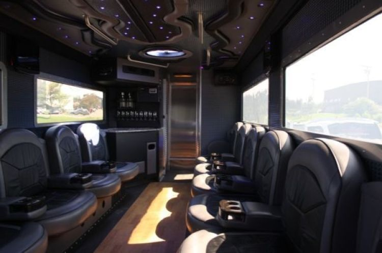 Armored Truck Limo Nightclub