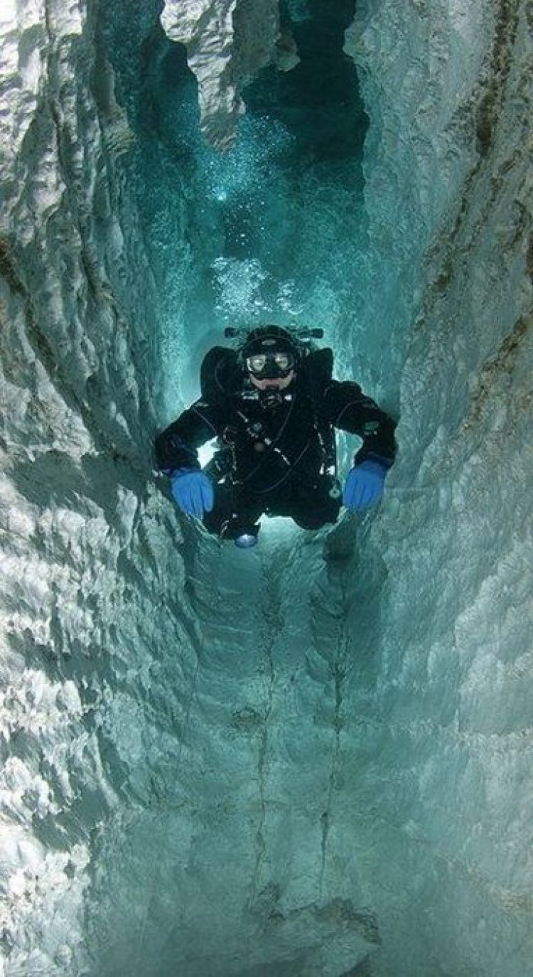 Submerged Caves