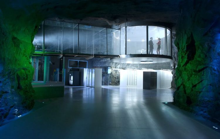Underground Data Center