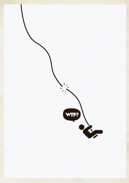 Simple but Clever Drawings to Illustrate WTF Situations. Part 2