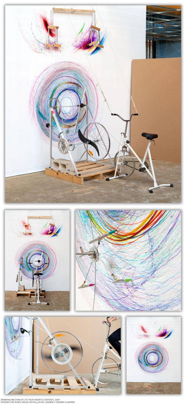 Uncanny Factoid: Bicycle Art