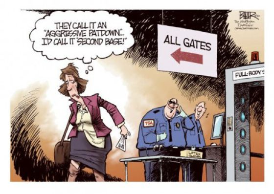 Funny TSA Comics