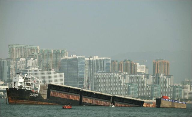 SOS! A Sinking Barge!