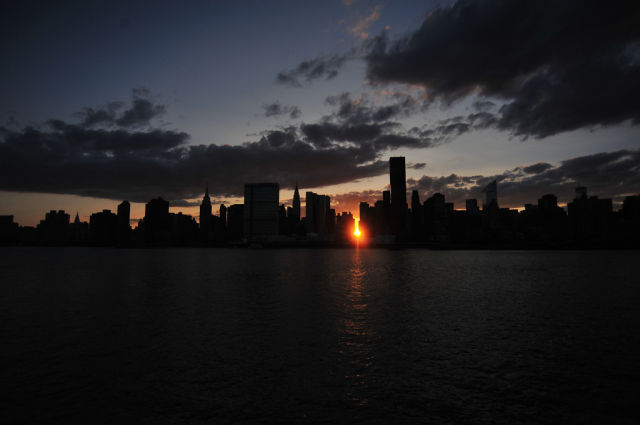 Manhattanhenge Miracle