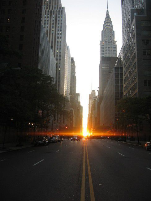 Manhattanhenge Miracle