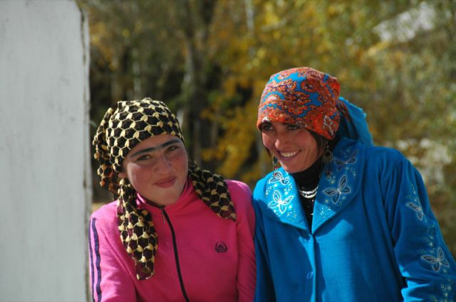 Tajik Fashion: Women Accent Their Eyebrows