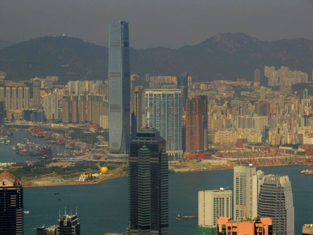 ICC Tower in Hong Kong