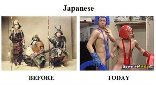 Past vs Present