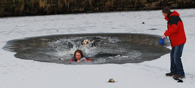 Labrador Owner Nearly Dies Trying to Rescue Her Pet