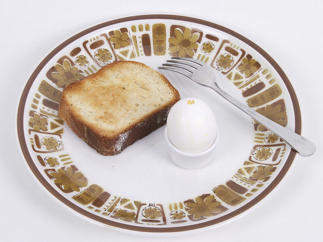 Delicious Omelette in an Eggshell