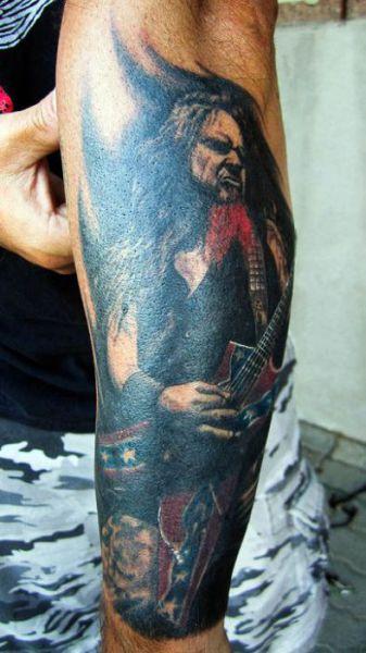 Dimebag Darrell Tattos