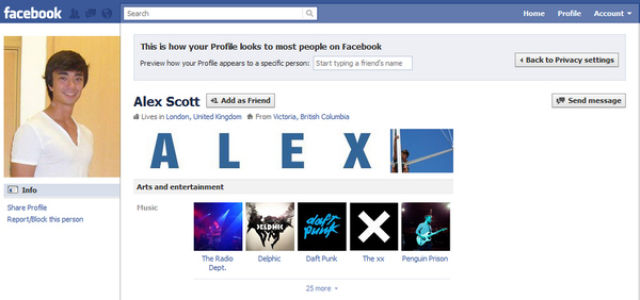 2  Facebook Fun Hack Profiles