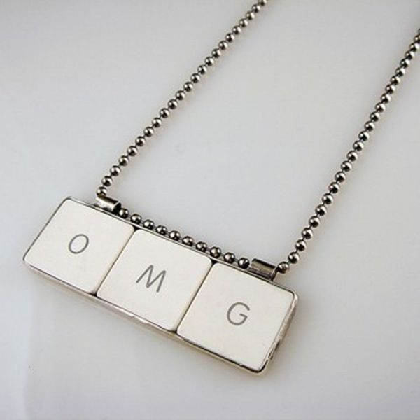 Keyboard Key Jewelry