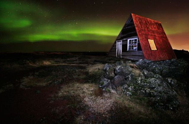 The Strange Aurora Borealis Lights