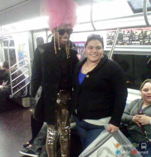 What You Can See in the Subway. Part 3