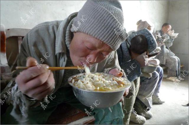 Unusual Slaves in a Chinese Sweatshop