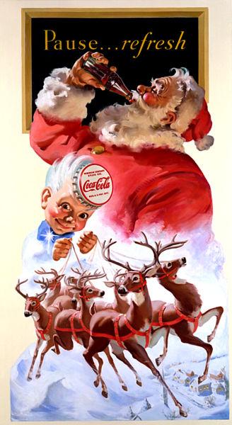Tilted Tens: Commerical Santa