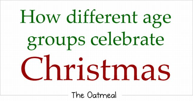 Different Strokes for Different Folks on Christmas