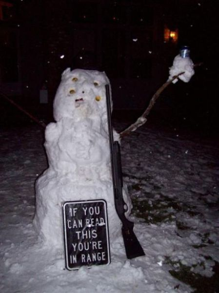 Fun with Snowmen