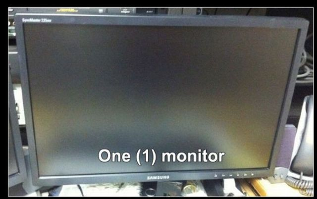 """Trolling"" a Monitor with a Watermark"