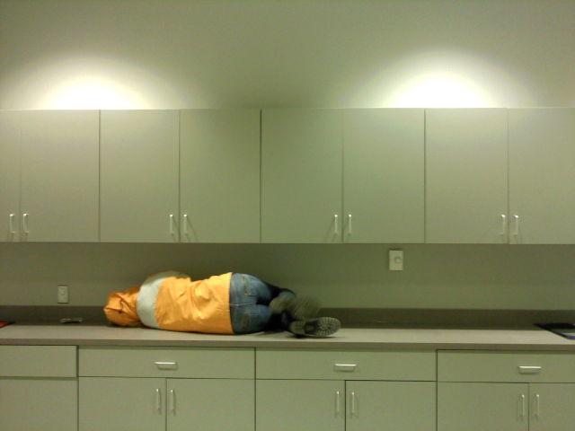 Where Asians Like to Sleep