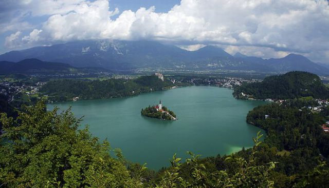 A Beautiful Island in Slovenia